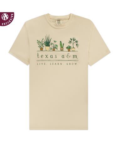 Texas A&M Live Learn Grow T-Shirt