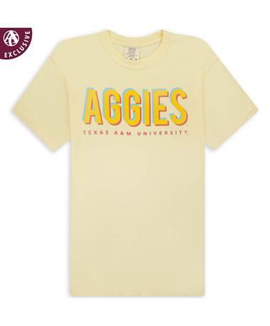 Texas A&M Neon Aggies T-Shirt