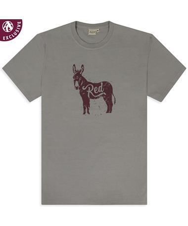 Redass Maroon Donkey T-Shirt