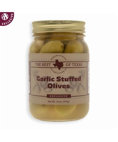 The Best of Texas Garlic Stuffed Olives