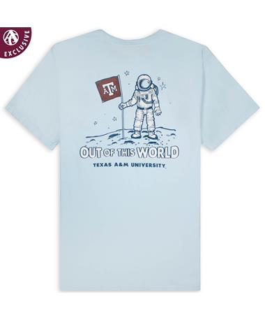 Texas A&M Out of This World Space Aggie T-Shirt