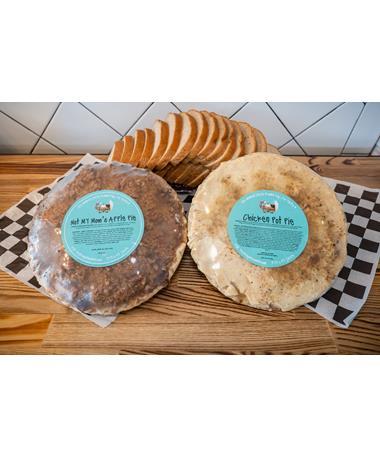 Royers Chicken Pot Pie & Apple Pie Bundle