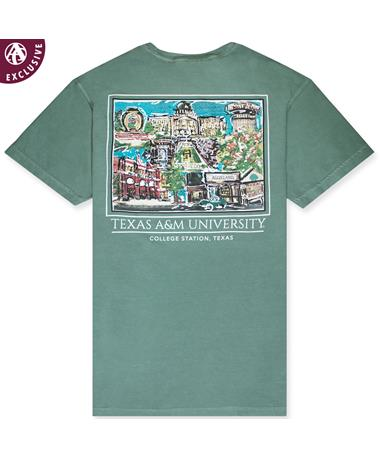 Texas A&M Aggieland Portrait T-Shirt