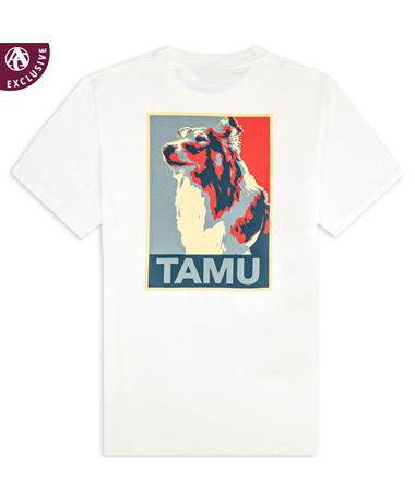 Texas A&M Blue & Red Reveille T-Shirt