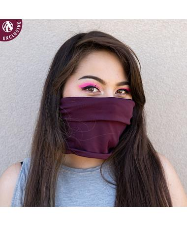 Maroon Gaiter Face Mask