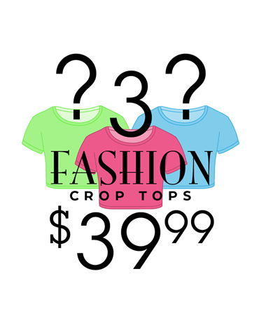 Women's Crop Top Mystery Bundle