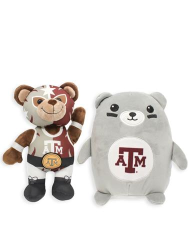 Texas A&M Plush Bundle