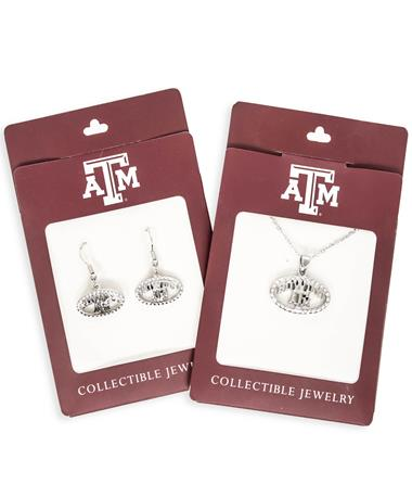 Texas A&M Howdy Earrings and Pendant Bundle