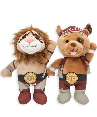 Texas A&M Wrestling Plush Bundle