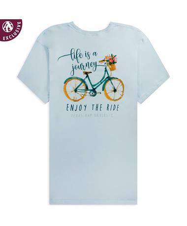 Texas A&M Enjoy The Ride Bicycle T-Shirt