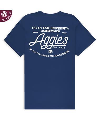 Texas A&M Clean & Simple T-Shirt