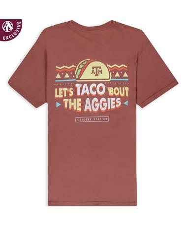 Texas A&M Let's Taco 'Bout the Aggies T-Shirt