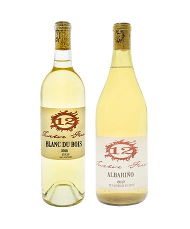 IN STORE PICKUP OR LOCAL DELIVERY ONLY: 12 Fires White Wine Bundle