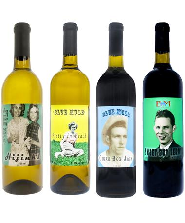 IN STORE PICKUP OR LOCAL DELIVERY ONLY: Blue Mule Combo Wine Bundle