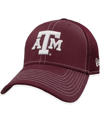 Texas A&M New Era Block Logo Fitted Hat