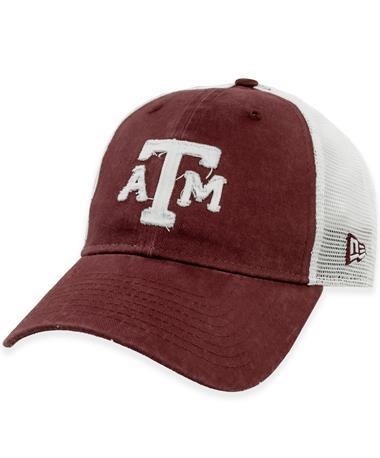 Texas A&M New Era Rugged Trucker Hat