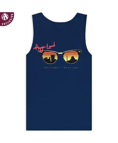 Texas A&M Aggieland Skyline Sunglasses Tank