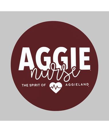 Texas A&M Aggie Nurse Dizzler Sticker