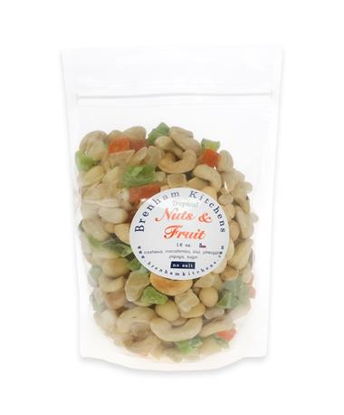 Brenham Kitchens 16oz. Tropical Nuts & Fruit Snack Mix