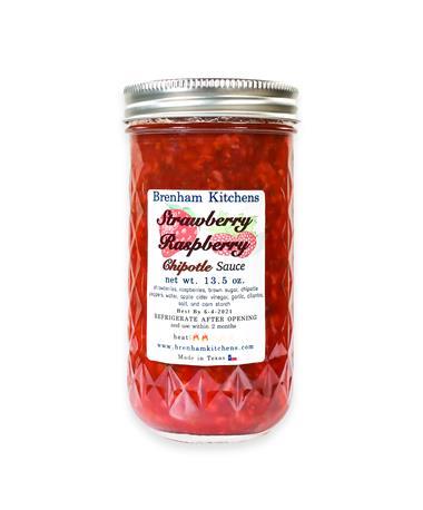Brenham Kitchens Strawberry Raspberry Chipotle Sauce