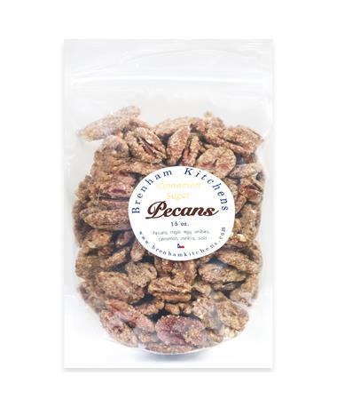 Brenham Kitchens 15oz Sugar Spiced Pecans