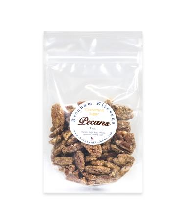 Brenham Kitchens 5oz Sugar Spiced Pecans