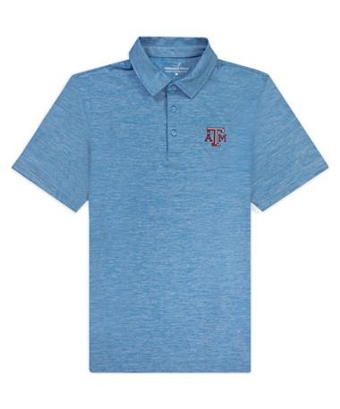 Texas A&M Vineyard Vines Destin Stripe Edgartown Polo
