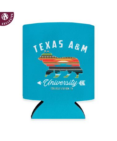 Texas A&M Aztec Directions Koozie