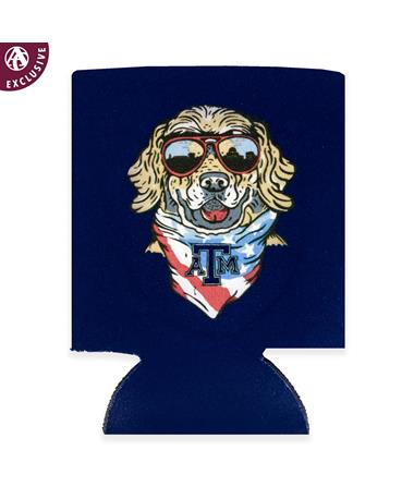 Texas A&M Bandana Dog Cruizin Koozie