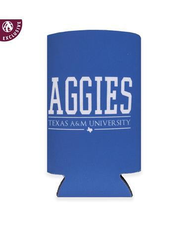 Texas A&M Aggies All Caps Slim Koozie