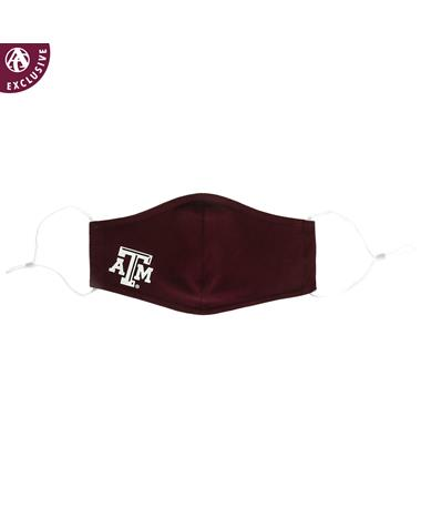 Texas A&M Bamboo Cotton Mask