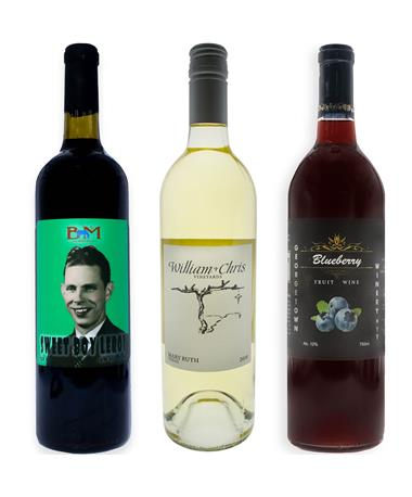 IN STORE PICKUP OR LOCAL DELIVERY ONLY: Red, White, & Blue Wine Bundle