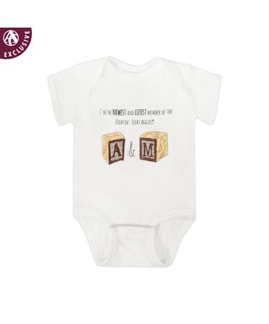 Texas A&M Newest & Cutest Onesie