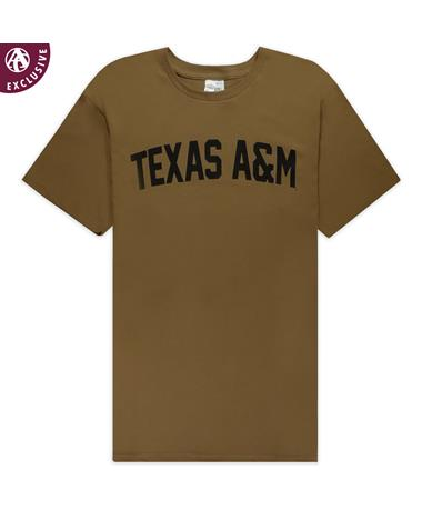 Texas A&M Coyote Brown Military T-Shirt