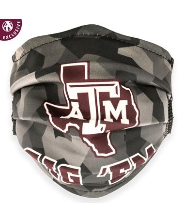 Texas A&M Lone Star Gig 'Em Shattered Mask