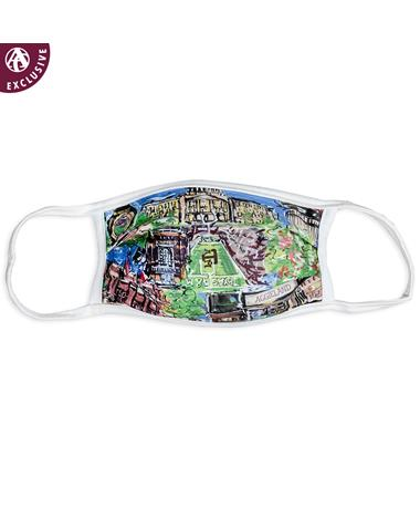 Texas A&M Aggieland Portrait Face Mask