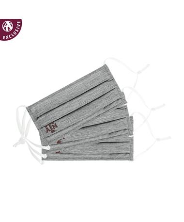 Texas A&M Grey Cotton Mask - 3 Pack