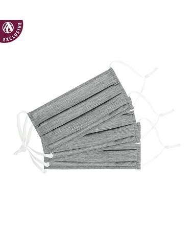 Plain Grey Mask - 3 Pack