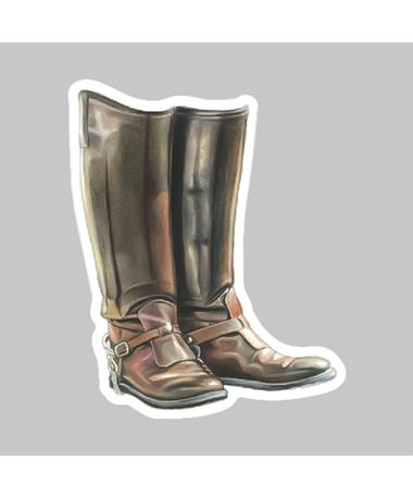 Boots Dizzler Sticker
