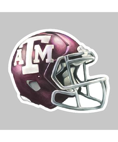 Texas A&M Football Helmet Dizzler