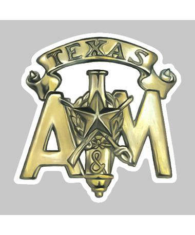 Texas A&M Corps Dizzler Sticker