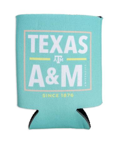 Texas A&M Written In Bold Koozie