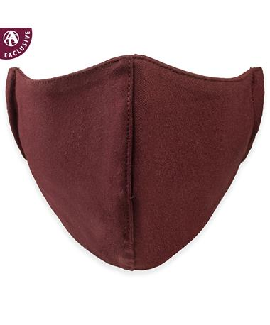 Maroon Poly Mask