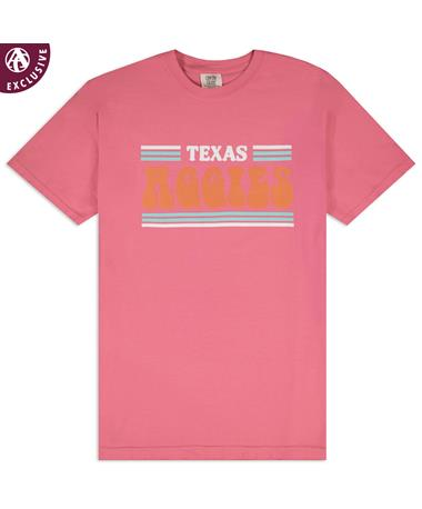 Texas A&M Aggies 3 Stripe Retro T-Shirt