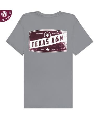 Texas A&M Rustic Sign T-Shirt
