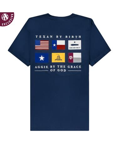 Texas A&M Texan By Birth T-Shirt