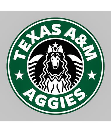Texas A&M Aggies Star Rev Dizzler Sticker