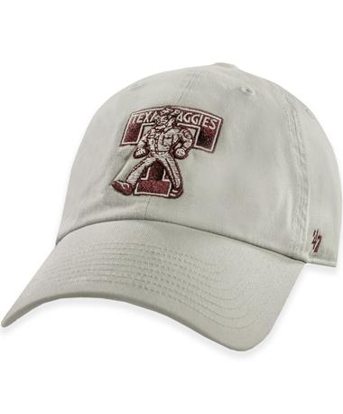 Texas A&M '47 Brand Texas Aggies Vintage Gray Sarge Hat