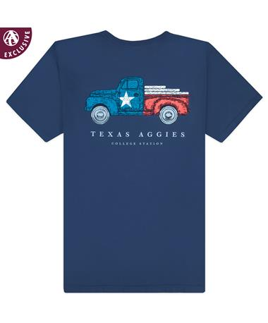 Texas A&M Texas Flag Truck