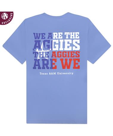 Texas A&M We Are The Aggies Flag T-Shirt